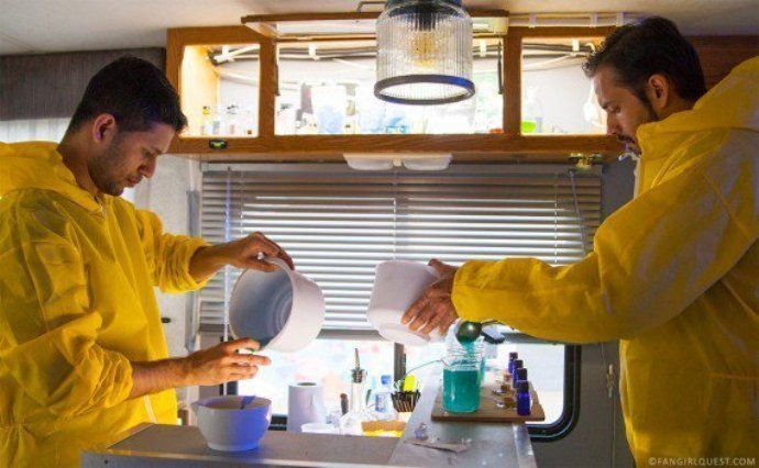 Un bar éphémère Breaking Bad débarque à Paris